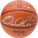 Karl Malone Utah Jazz Autographed Signed Spalding NBA Basketball FANATICS