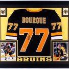 Ray Borque Autographed Signed Framed Boston Bruins Jersey JSA