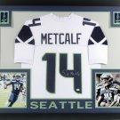 D.K. Metcalf Autographed Signed Seattle Seahawks Framed Jersey BECKETT