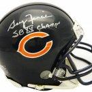 Gary Fencik Signed Autographed Chicago Bears Mini Helmet SCHWARTZ