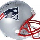 Tedy Bruschi Autographed Signed New England Patriots FS Helmet FANATICS