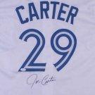 Joe Carter Signed Autographed Toronto Blue Jays Jersey JSA