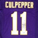 Daunte Culpepper Autographed Signed Minnesota Vikings Jersey PSA