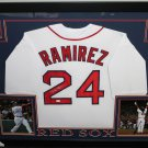 Manny Ramirez Autographed Signed Framed Boston Red Sox Jersey MLB