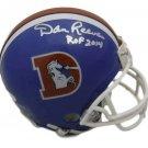 Dan Reeves Autographed Signed Denver Broncos Mini Helmet JSA