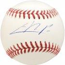 Christian Pache Atlanta Braves Autographed Signed Official Baseball BECKETT
