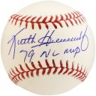 Keith Hernandez Cardinals Autographed Signed MLB Baseball BECKETT