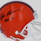 Jim Brown Cleveland Browns Signed Autographed Mini Helmet FANATICS