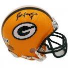 Brett Favre Signed Autographed Green Bay Packers Mini Helmet RADTKE