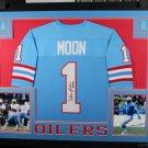 Run N Shoot Autographed Signed Framed Houston Oilers Framed Jersey BECKETT