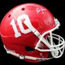 Brett Favre Signed Autographed Hancock High School FS Helmet RADTKE