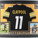 Chase Claypool Autographed Signed Pittsburgh Steelers Framed Jersey BECKETT