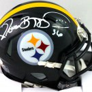 Jerome Bettis Autographed Signed Pittsburgh Steelers Speed Mini Helmet BECKETT