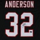 Jamal Anderson Signed Autographed Atlanta Falcons Jersey RADTKE