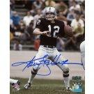 Ken Stabler Autographed Signed Oakland Raiders 8x10 Photo RADTKE