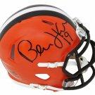 Bernie Kosar Autographed Signed Cleveland Browns Speed Mini Helmet SCHWARTZ