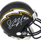Shawne Merriman Autographed Signed San Diego Chargers Mini Helmet SCHWARTZ