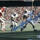 Mercury Morris & Bob Kuchenberg Autographed Signed 8x10 Dolphins Photo BECKETT