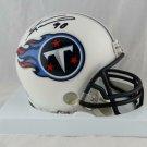 Jevon Kearse Signed Autographed Tennessee Titans Mini Helmet BECKETT