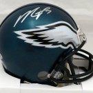 Michael Vick Autographed Signed Philadelphia Eagles Mini Helmet BECKETT