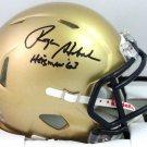 Roger Staubach Signed Autographed Navy Midshipmen Mini Helmet BECKETT