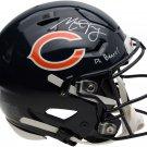 Mitch Trubisky Autographed Signed Chicago Bears FS Speed Proline Helmet FANATICS