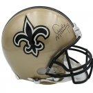 Archie Manning Autographed Signed New Orleans Saints FS Proline Helmet FANATICS