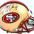Jeff Garcia Signed Autographed San Fransisco 49ers Mini Helmet BECKETT