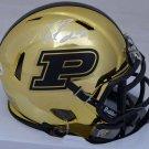 Drew Brees Autographed Signed Purdue Boilermakers Chrome Mini Helmet BECKETT