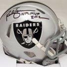 Rich Gannon Signed Autographed Oakland Raiders Speed Mini Helmet BECKETT