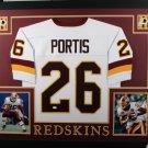 Clinton Portis Autographed Signed Washington Redskins Framed Jersey JSA