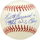 Keith Hernandez Mets Signed Autographed NL Baseball BECKETT