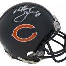 Matt Suhey Signed Autographed Chicago Bears Mini Helmet SCHWARTZ