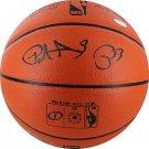 Patrick Ewing New York Knicks Autographed Signed Spalding NBA Basketball STEINER