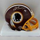 Champ Bailey Autographed Signed Washington Mini Helmet BECKETT