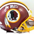 John Riggins Autographed Signed Washington Redskins Mini Helmet BECKETT