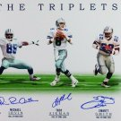 Aikman, Irvin, & Smith Autographed Signed Dallas Cowboys 16x20 Photo BECKETT