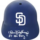 Benito Santiago Signed Autographed San Diego Padres Batting Helmet SCHWARTZ