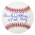 Benito Santiago Padres Signed Autographed Official Baseball SCHWARTZ