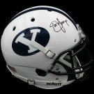 Steve Young Autographed Signed BYU Cougars Proline Helmet RADTKE