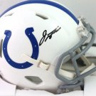 Jonathan Taylor Autographed Signed Indianapolis Colts Mini Helmet FANATICS