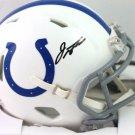 Jonathan Taylor Autographed Signed Indianapolis Colts Mini Helmet FANATICS