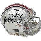 Ezekiel Elliott Signed Autographed Ohio State Buckeyes Chrome Mini Helmet RADTKE