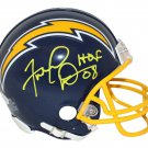 Fred Dean Signed Autographed San Diego Chargers Mini Helmet JSA