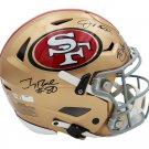 Montana Young & Rice Autographed Signed San Francisco 49ers Speedflex Proline Helmet FANATICS