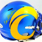 Cam Akers Autographed Signed Los Angeles Rams Mini Helmet BECKETT