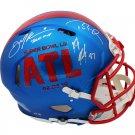 Brady Edelman Gronkowski Autographed Signed Patriots SB 53 Proline Helmet FANATICS
