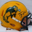 Trey Lance Autographed Signed North Dakota State Bison Mini Helmet BECKETT