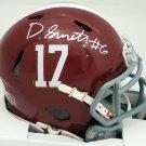 Devonta Smith Autographed Signed Alabama Crimson Tide Mini Helmet BECKETT