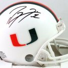 Ray Lewis Autographed Signed Miami Hurricanes Miami Helmet BECKETT